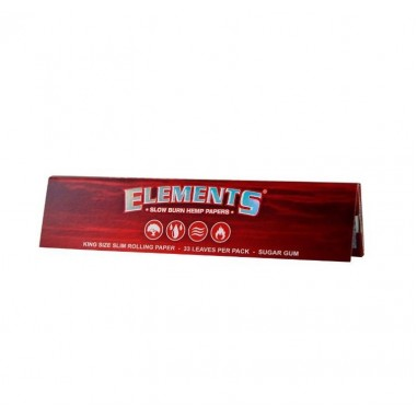 Листчета Elements Red Ks slim
