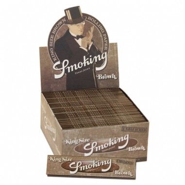 Листчета Smoking Brown Ks Slim