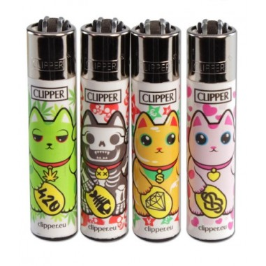 Запалка Clipper Maneki Neko